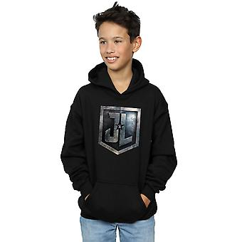 DC Comics Boys Justice League Movie Shield Hoodie