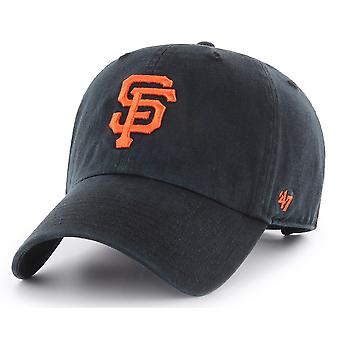 47 Brand San Francisco Giants Clean Up Cap - Black