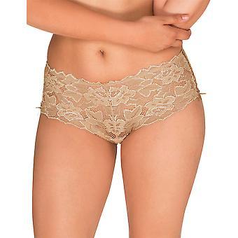 Sans Complexe 61564 Women's Arum Skin Lace Full Panty Highwaist Brief