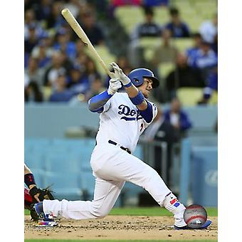 Yasmani Grandal 2017 Action Photo Print