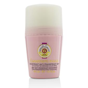 Roger & Gallet Gingembre Rouge 48h Anti-traspirante deodorante Roll On 50ml/1.6 oz
