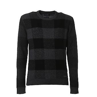 Woolrich men's WOMAG1746MY011486 black Wool Sweater