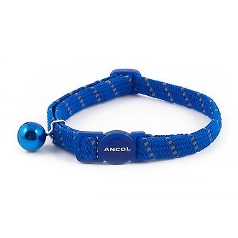 Ancol Reflective Blue Cat Collar