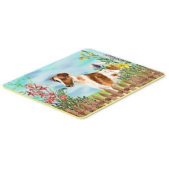 Smooth Fox Terrier Spring Kitchen or Bath Mat 20x30