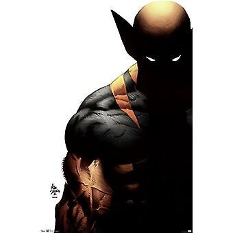 Wolverine - Schatten Poster drucken