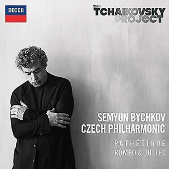 Bychkov/Czech Philha - Tchaikovsky: Symphon [CD] USA import
