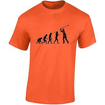 Golf van evolutie Mens T-Shirt 10 kleuren (S-3XL) door swagwear