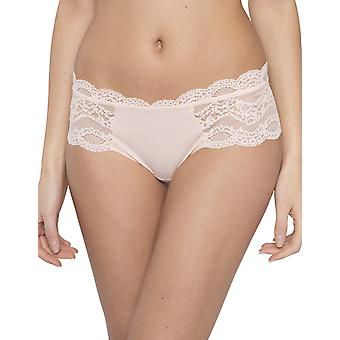 Maison Lejaby 17269-321 Women's Insaisissable Peach Pink Lace Knicker Shorties Boyshort