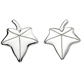 Beginnings Ivy Stud Earrings - Silver
