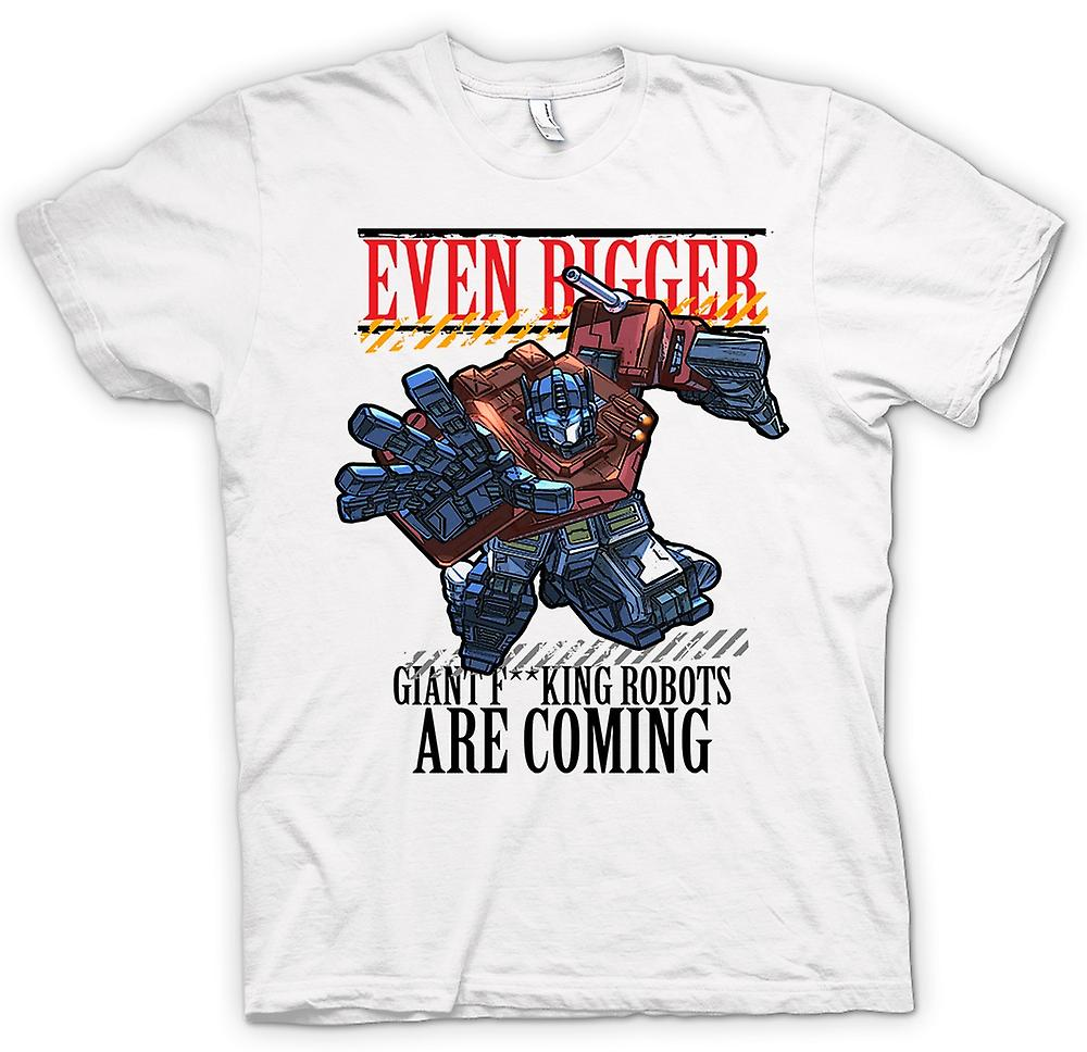 Mens T-shirt - Transformers Giant - F*cking Robots