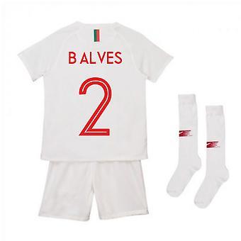 2018-2019 Portugal Away Nike Mini Kit (B Alves 2)