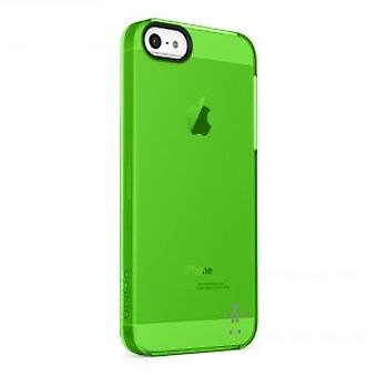 Belkin Shield Sheer Cover Hülle für iPhone 5/5S - Grün