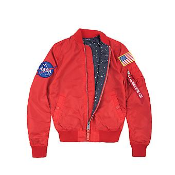 Alpha industries ladies jacket MA-1 NASA TT reversible Wmn