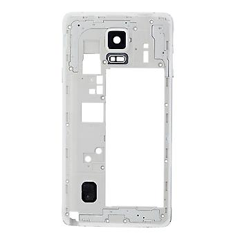 For Samsung Galaxy Note 4 N910T Rear Housing Frame White