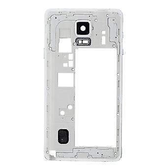 Für Samsung Galaxy Note 4 N910T hinten Gehäuse Rahmen weiß