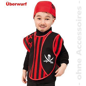 Pirate Costume-kids pirate cloak skull pirate child costume