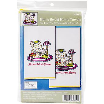 Tobin Stamped For Embroidery Kitchen Towels 18