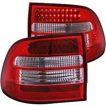 Anzo USA 321170 Porsche Cayenne Red/Clear LED Tail Light Assembly - (Sold in Pairs)