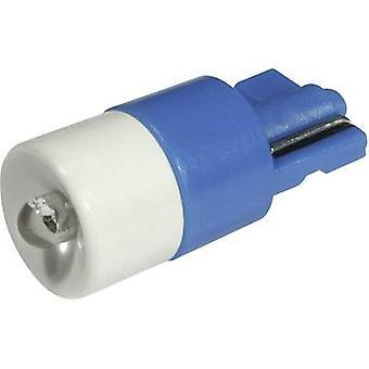 CML LED bulb W2.1x9.5d Blue 24 Vdc, 24 V AC 650 mcd 1511 B35 B3