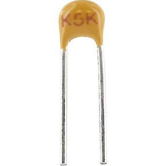 Kemet C315C102K1R5TA+ Ceramic capacitor Radial lead 1 nF 100 V 10 % (L x W x H) 3.81 x 2.54 x 3.14 mm 1 pc(s)