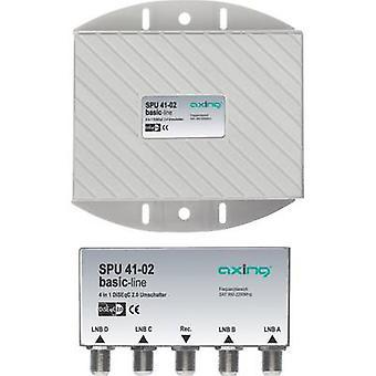 Axe SPU 41-02 DiSEqC commutateur 5 (4 SAT/1 terrestre) 1