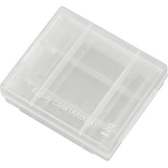Battery box 4x AAA, AA Conrad energy Batterie-Box 4 (L x W x H) 67 x 55 x 22 mm