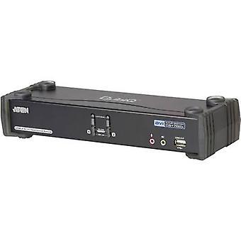 ATEN CS1782A-AT-G 2 ports KVM changeover switch DVI USB 2560 x 1600 pix