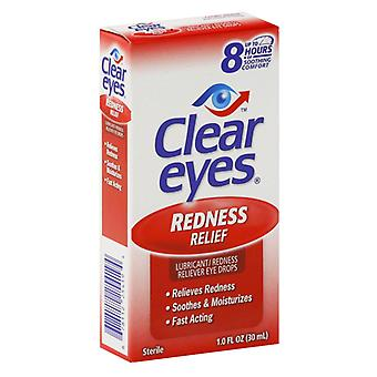 Clear Eyes Redness Relief Eye Drops, Up To 8 Hours Relief, 1 Oz