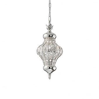 Ideal Lux Nawa-3 enda hänge ljus Argento