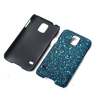 Cell phone cover case bumper shell for Samsung Galaxy S5 / S5 neo 3D star turquoise