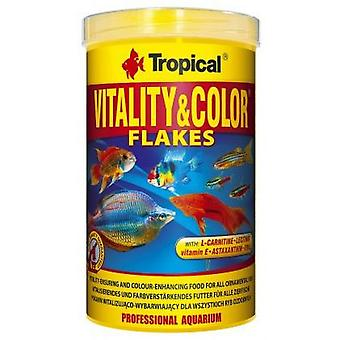 Tropical 77146 Vitality&Color 1000 ml (Fish , Food , Warm Water)