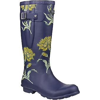 Cotswold donna/Womens Windsor stampa Wellingtons