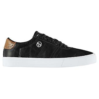 Sergio Tacchini Mens Set Trainers Low Lace Up Padded Ankle Collar Textured