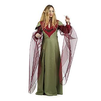 Elf Druid magician Mage dwarf Lady costume Deluxe