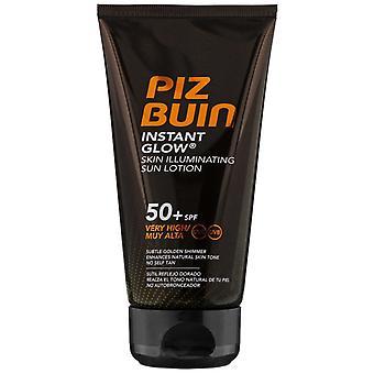 Piz Buin brilho instantâneo da pele iluminante Sun loção SPF50 + 150 ml