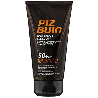 Piz Buin Instant Glow pelle illuminante crema solare SPF50 + 150 ml