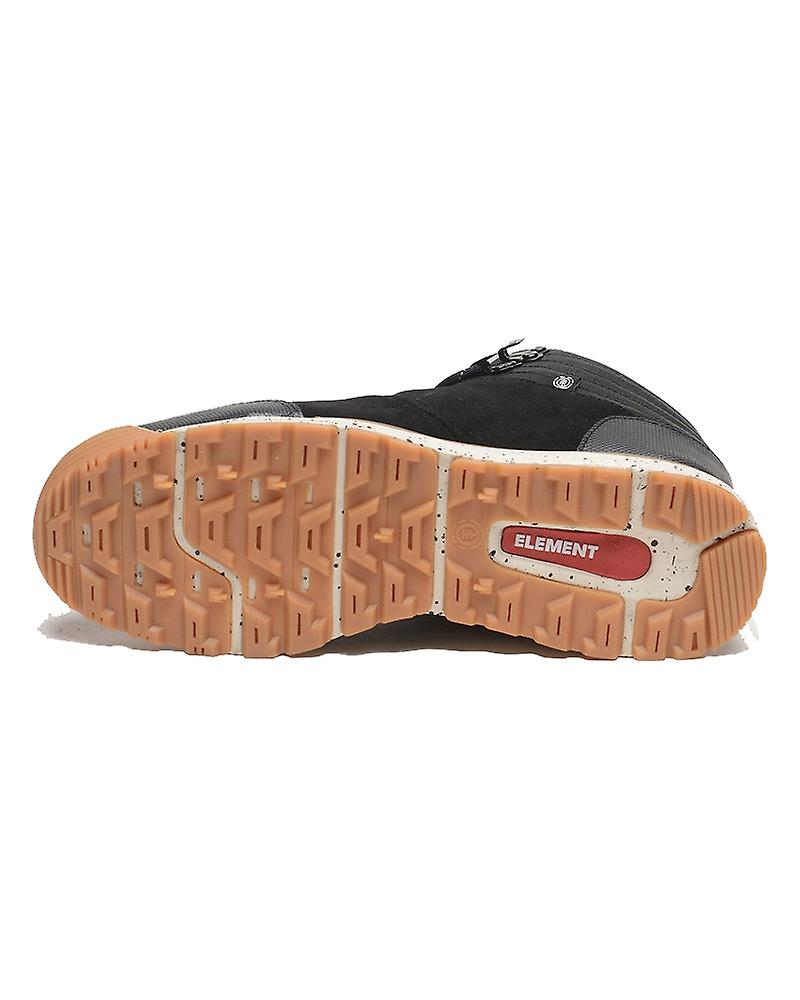 Element Donnelly Light Trainers in Black Gum