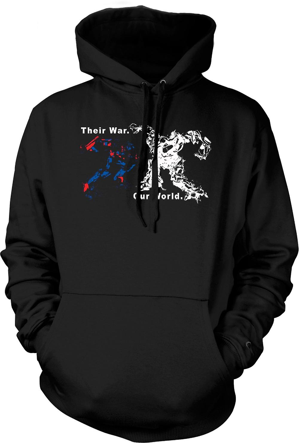 Mens Hoodie - Guerre transformateurs - Optimus Prime