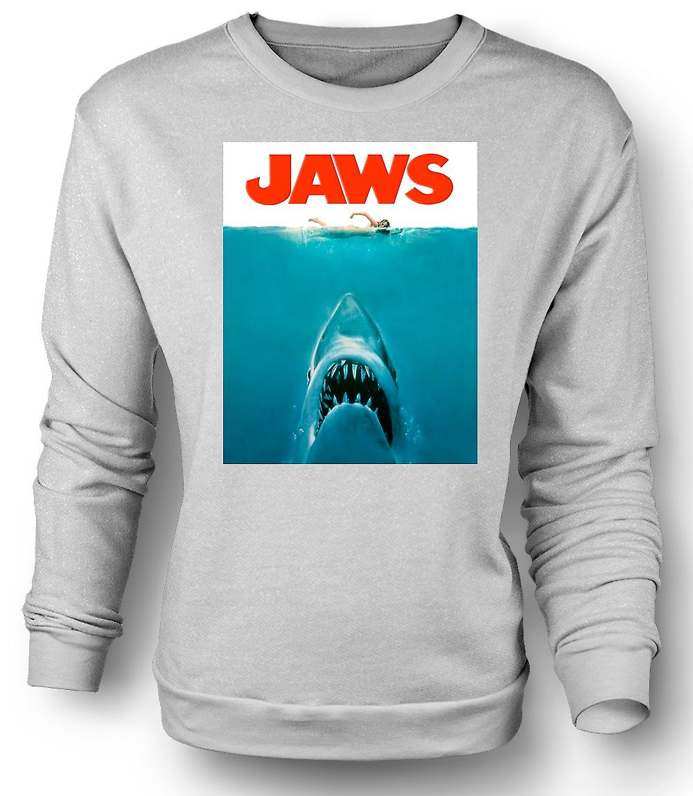 Mens Sweatshirt Jaws Shark
