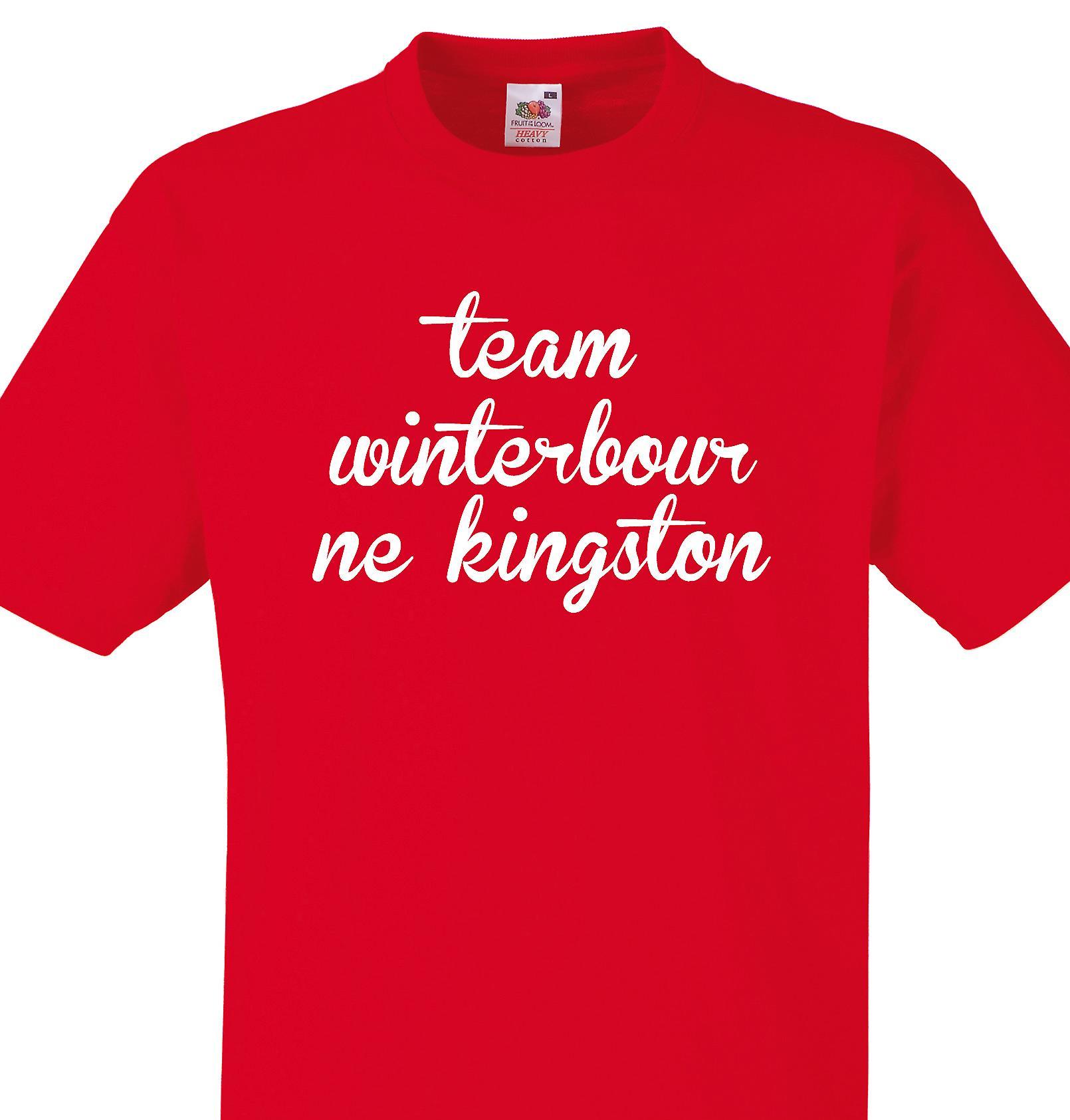 Team Winterbourne kingston Red T shirt