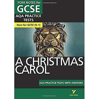 A Christmas Carol AQA Practice Tests: York Notes for GCSE (9-1) - York Notes