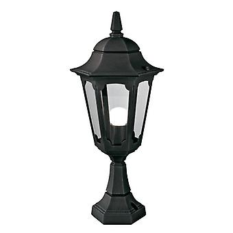 Sognet piedestal lanterne sort - Elstead belysning