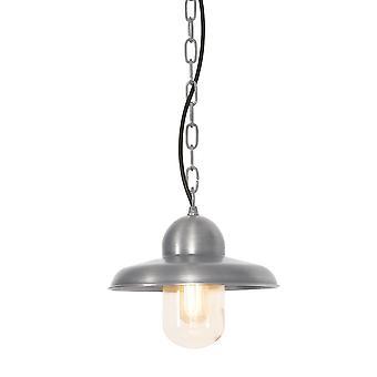 Somerton antik Nickel utomhus tak kedja Lantern - Elstead belysning Somerton Ch en