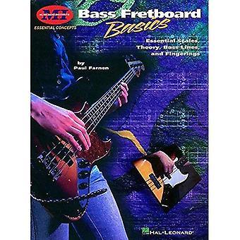 Bas Fretboard Basics: Essentiële schalen, theorie, baslijnen en grepen