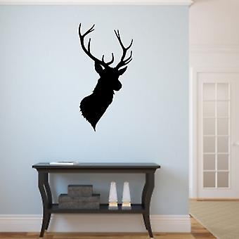 A Stags Head wall art sticker decal