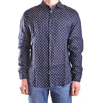 Michael Kors Blue Cotton Shirt