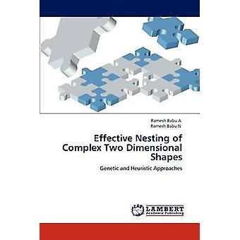 Eficaz de aninhamento de formas complexas de duas dimensões por um & Ramesh Babu