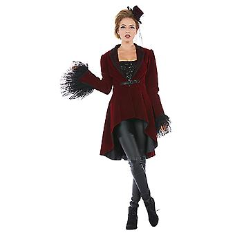 Burlesque coat ladies costume dress Carnival