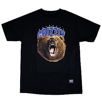 Grizzly Griptape The Roar T-Shirt Black