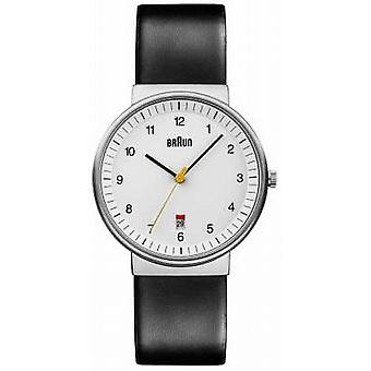 Braun Mens All White Black BN0032WHBKG Watch